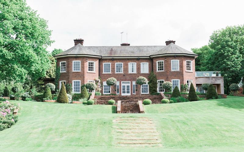 Delamere Manor grounds shot