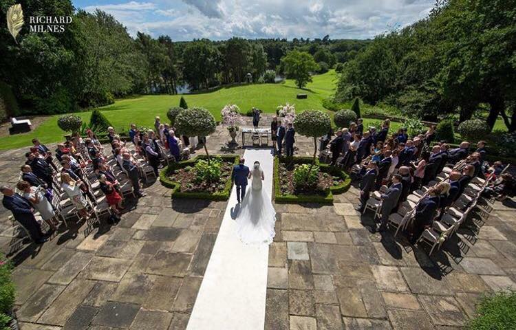outdoor wedding ceremonies cheshire