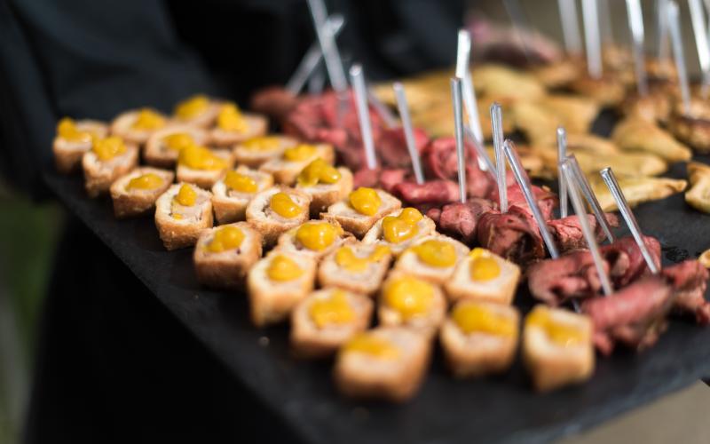 luxury wedding venues Delamere Manor food launch