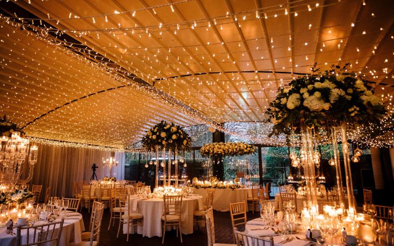 Wedding Marquee Fair Lights