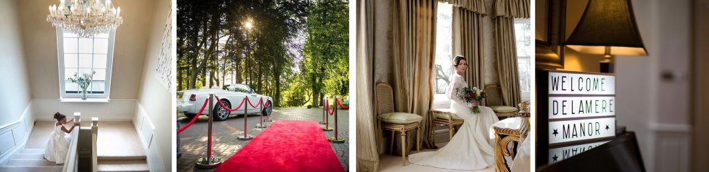 Cheshire wedding event at Delamere Manor