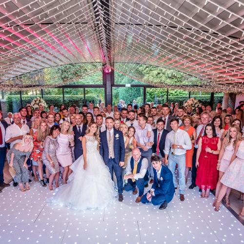 Courtyard Wedding Party