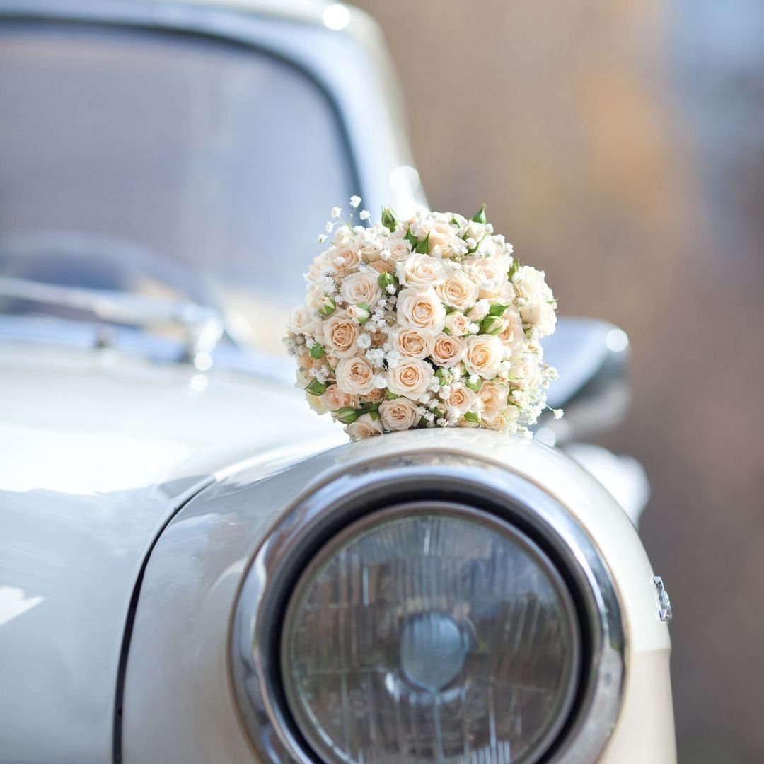 Three wedding transportation ideas to turn heads