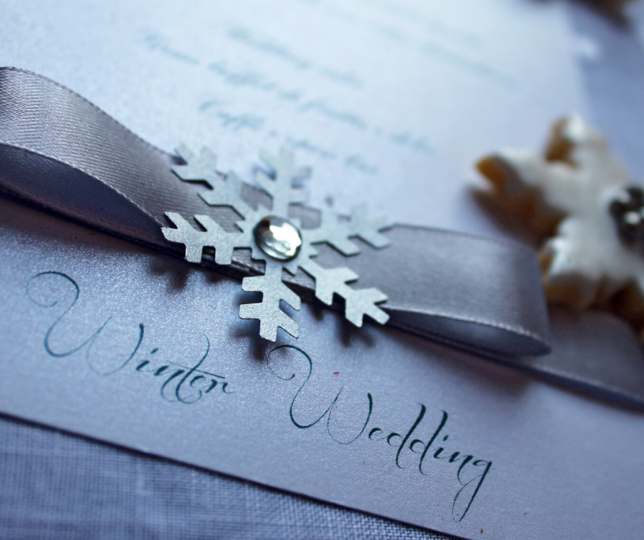 Winter wedding favours you may not have thought of