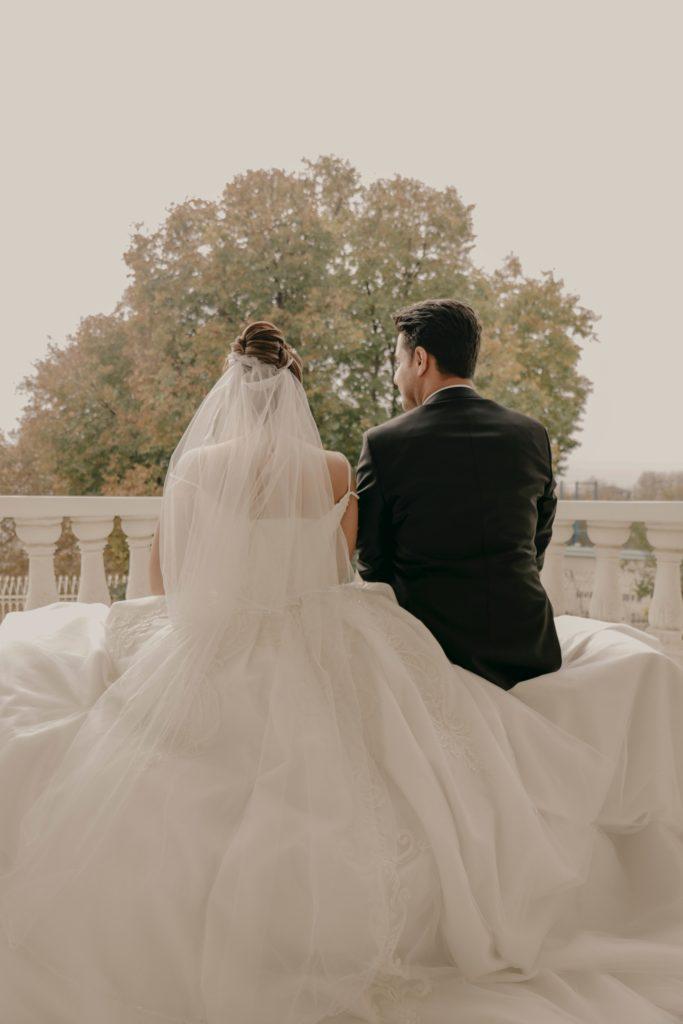a wedding couple chesire