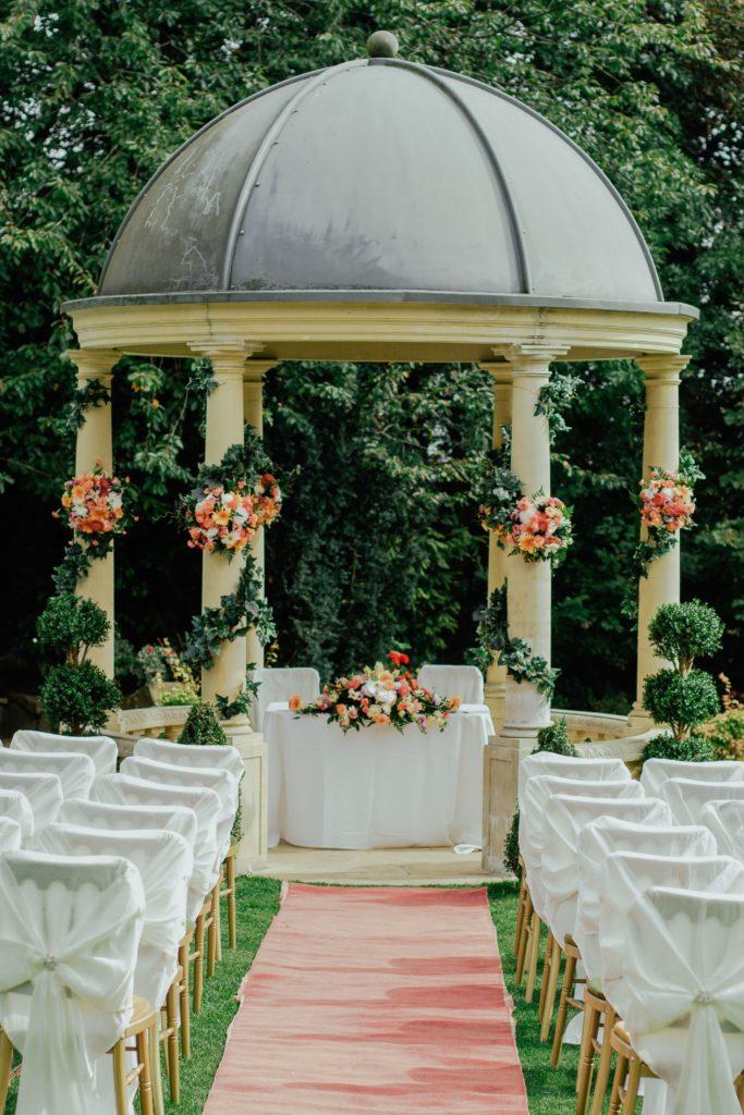 Image describes a wedding ceremony