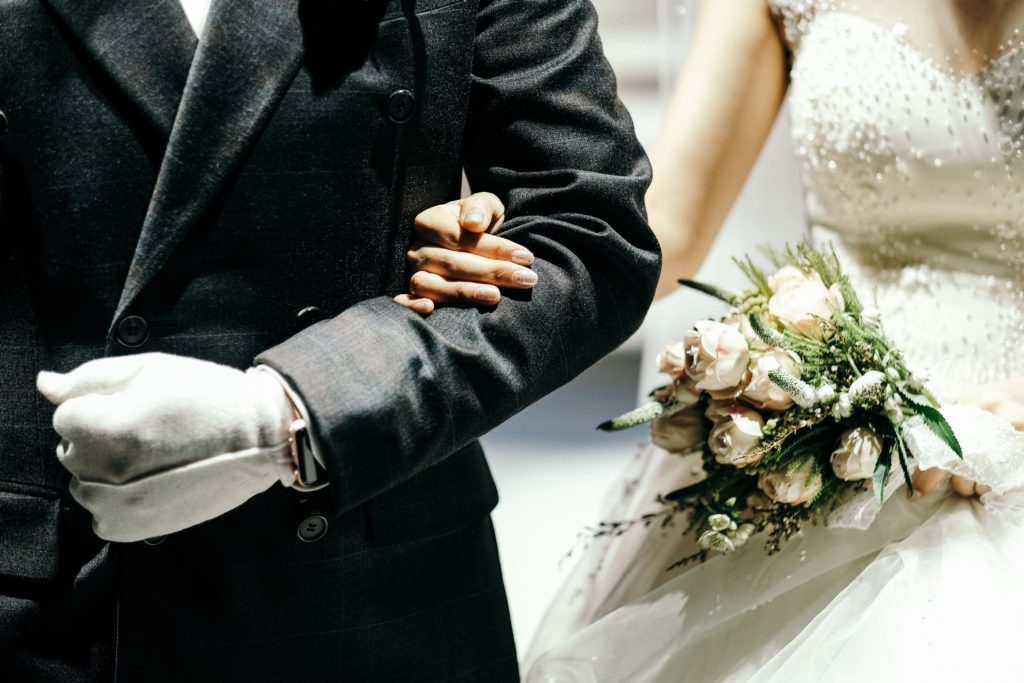 Image describes a father of the bride.