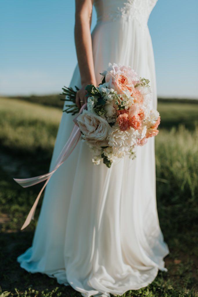 Image describes a bride.