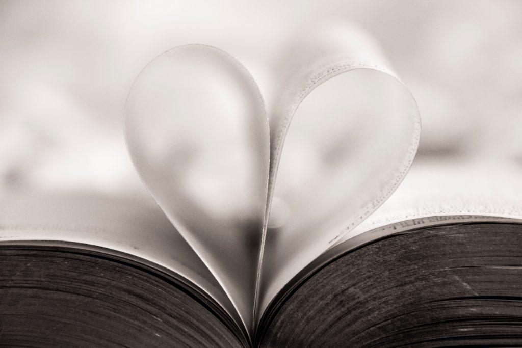 Image describes a wedding reading.