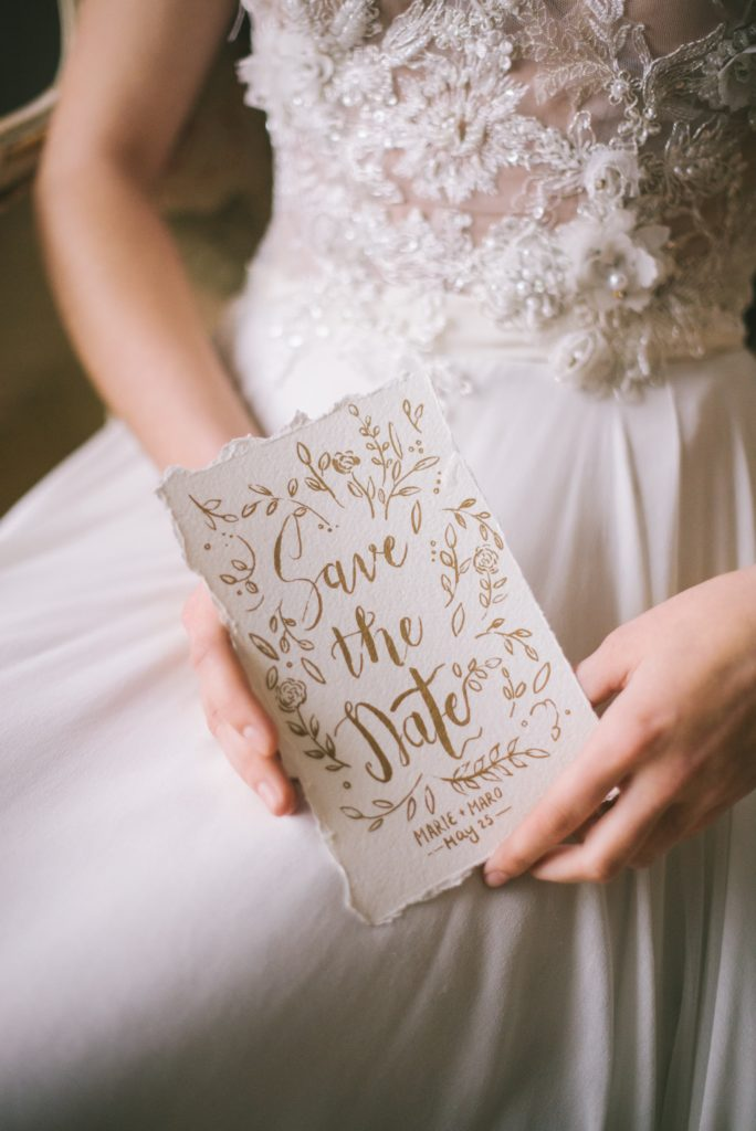 Image describes a save the date.
