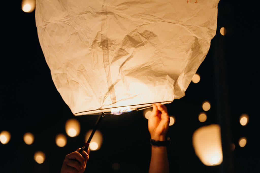 Image describes a lantern.